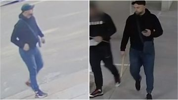 Police have released CCTV to try and locate a man who may be able to assist in their investigation into a series of break-ins where furniture was stolen.