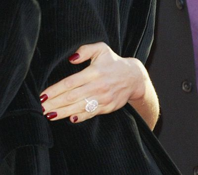 The ring was reportedly worth $1.1 million at the time