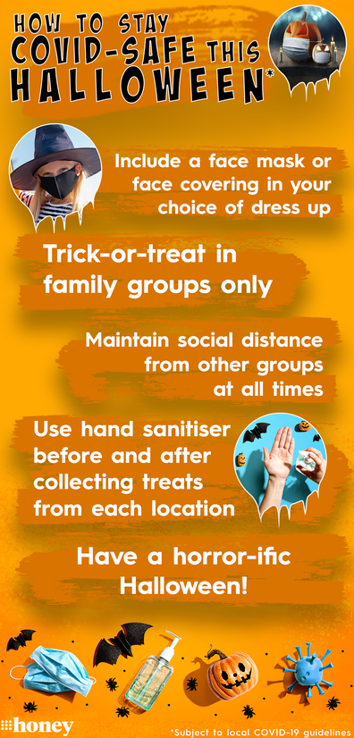 How to stay COVID-safe this Halloween.