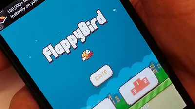 <b>6.</b> Flappy Bird. (AAP)<p>The mobile game was the most searched for game on Google this year.</p><p> The game was developed in Vietnam by Dong Nguyen and features a tiny bird which players have to navigate through a series of green pipes. </p>