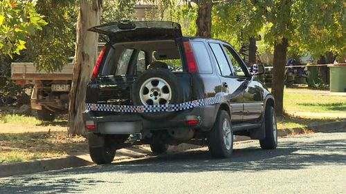 Emergency services were called to a home in Corowa around midday yesterday. (9NEWS)