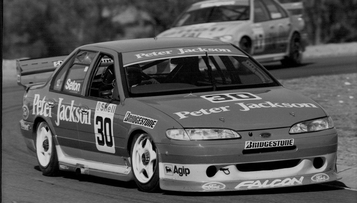 Glenn Seton in his Ford Falcon.