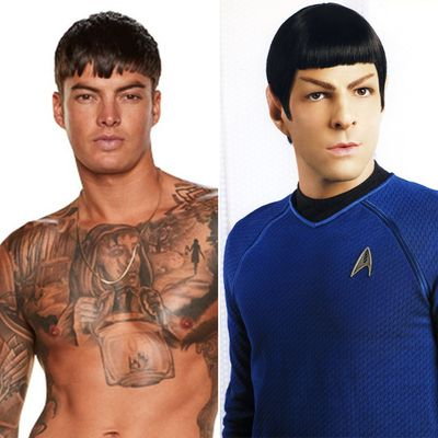Adam and Spock