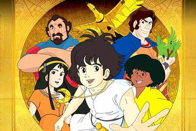<B>Ran from:</B> 1982 to 1983<br/><br/><br/><B>Why it's awesome:</B> This short-lived series follows Ebastian, who sets out to find his father and the City of Gold. Animated in Japan and written in France, this series is remembered for its in-depth storylines and characters — and for a wicked cool enormous mechanical bird made of gold.