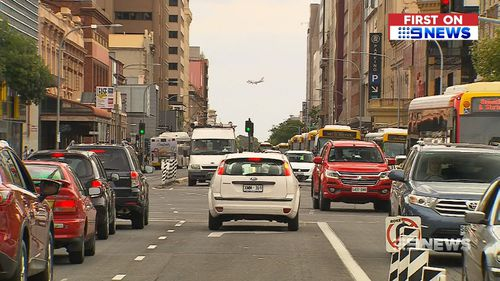 The aim of the trial is to relieve congestion on the city's roads. (9NEWS)