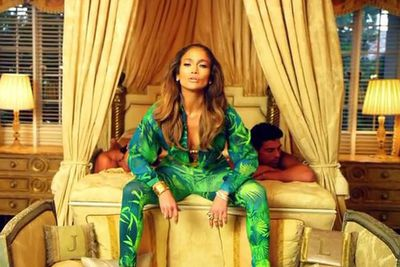 ...Revisiting a similar look in her 'I Luh Ya Papi' music video with French Montana in 2014.