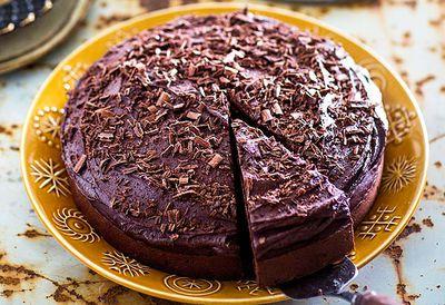 Gran's boiled chocolate cake