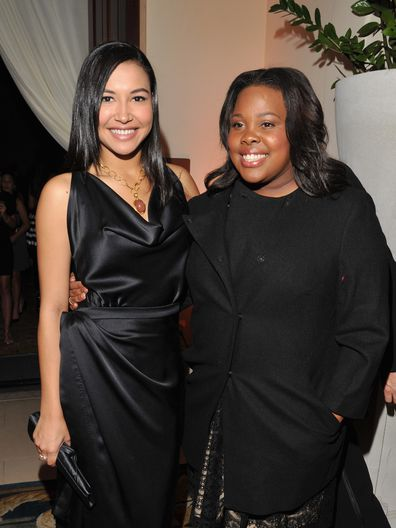 Naya Rivera, Amber Riley, Glee co-star, Celebration Of Dreams, Santa Barbara, 2011