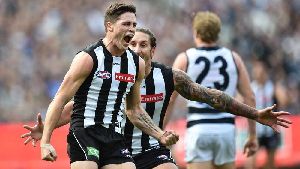 Party Pies stun slow-starting Cats in AFL