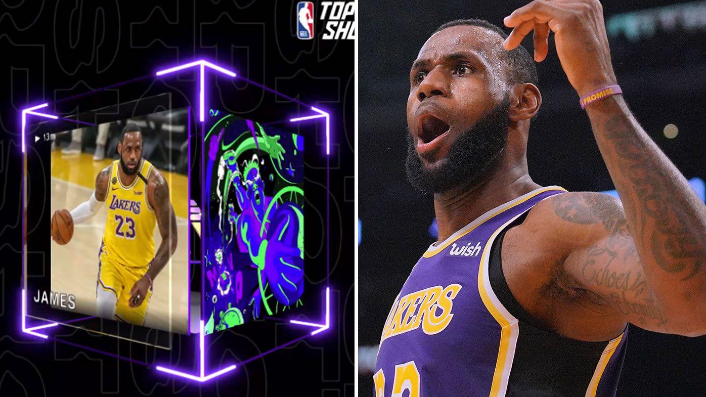NBA Top Shot, LeBron James