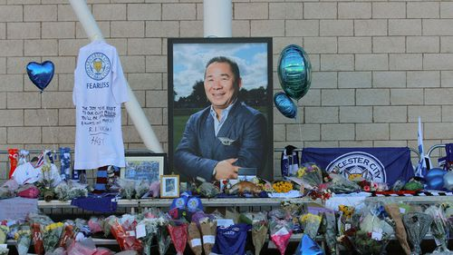 Leicester City owner Vichai Srivaddhanaprabha's funeral gets underway in Thailand
