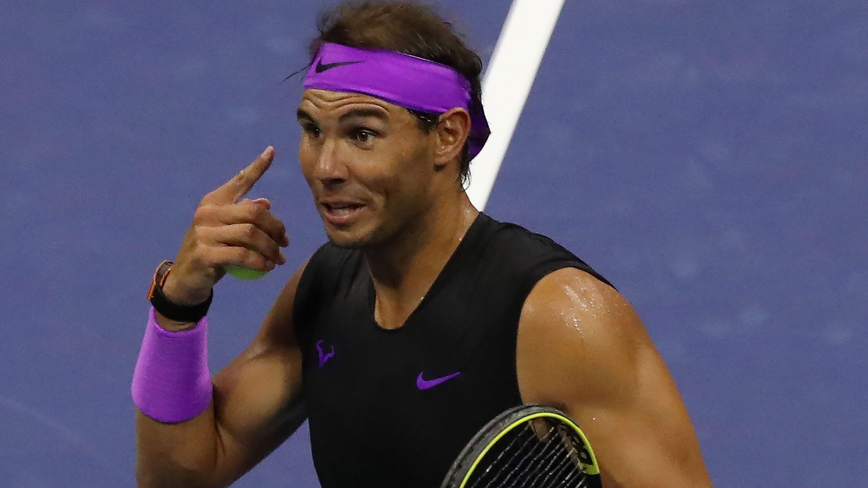 Rafael Nadal fumes at umpire over time violation vs John Millman
