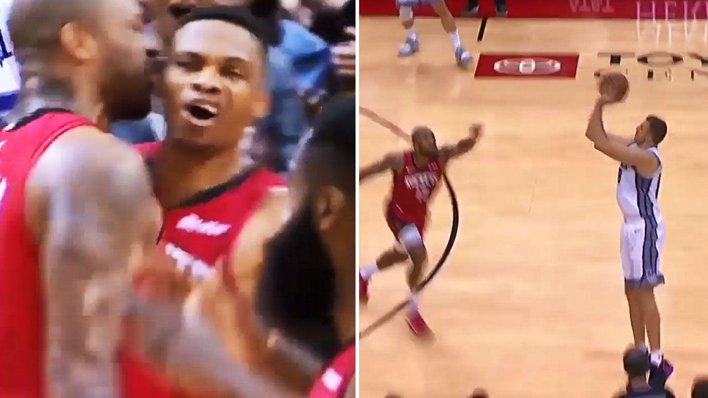 NBA: Nemanja Bjelica fires Scaramento past Houston with ridiculous buzzer-beater