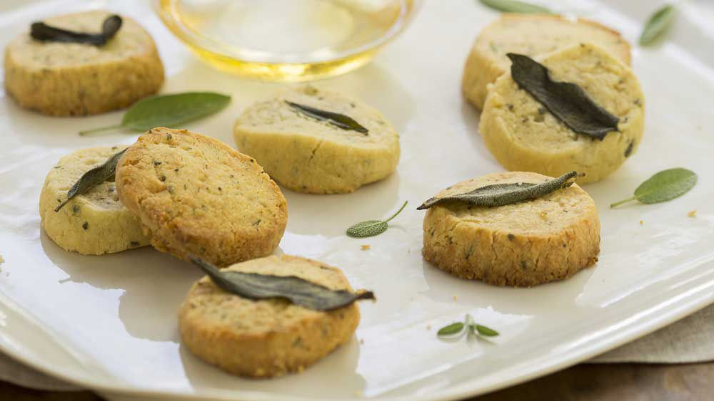 Indira Naidoo's sage and cheddar biscuits recipe - 9kitchen
