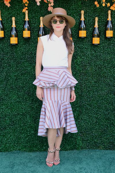 Keri Russell at the Veuve Clicquot Polo Classic in New York.