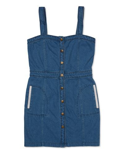 "<p><a href=""http://ryderlabel.com/collections/dresses/products/kia-denim-dress"" target=""_blank"">Ryder Kia Denim Dress, $199.</a></p> <p>Add a blouse if you work in a more corporate environment or a classic white T-shirt if your work has a casual vibe.</p>"