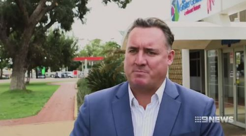 Geraldton Mayor Shane Van Styn has lashed out at the alleged culprits and said the parents should take responsibility. Picture: 9NEWS