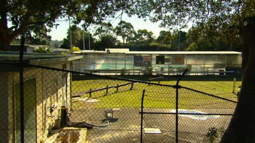 Council says the pool has significant structural issues. Picture: 9NEWS