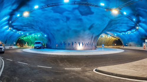 'Spectacular' underwater roundabout opens next week