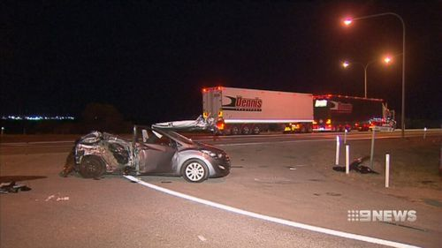 The crash near Port Pirie killed Jamie Dumbleton and injured two passengers. (9NEWS)