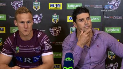Daly Cherry-Evans takes veiled swipe at Manly after shocking loss to Gold Coast