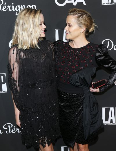 Ava  Phillippe and Reese Witherspoon at the L.A. Dance Project's Annual Gala, October, 2018