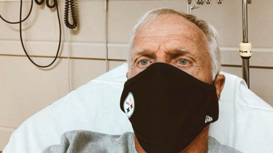 Greg Norman back in hospital after receiving positive COVID test, shares update detailing horrific symptoms
