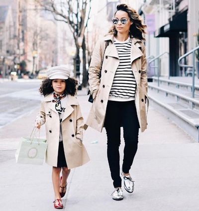 Street cred: London Scout and mum Sai De Silva have a mother/daughter style blog.