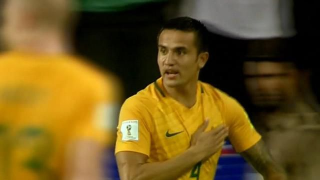 Cahill strikes for Socceroos