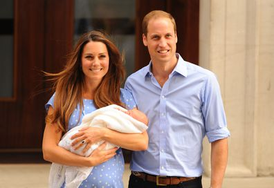 Duke and Duchess of Cambridge, Prince George birth
