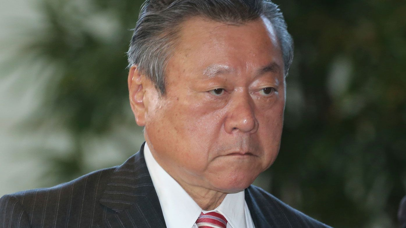 Japan's Olympics Minister issues public apology for arriving three minutes late to meeting