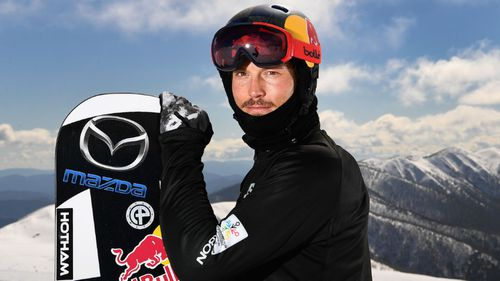 "Australian snowboarder Alex ""Chumpy"" Pullin, pictured in 2017 at Mount Hotham."