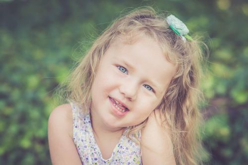 "Adalynn ""Addy"" Sooter, aged four, dies from a brain tumour following a two-year battle. Picture: Facebook"