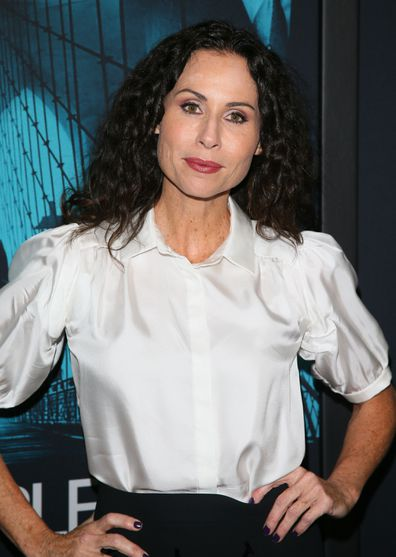 "Minnie Driver attends the Premiere of Warner Bros. Pictures' ""Motherless Brooklyn"" at Hollywood Post 43 on October 28, 2019 in Los Angeles, California."