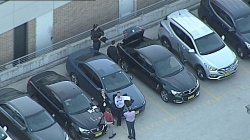 Witnesses told 9NEWS they spotted a number of unmarked police cars on the M2, M4 and M7 motorways. (9NEWS)