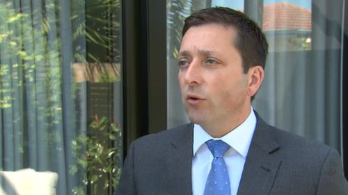 Matthew Guy unveiled the plans to 9News today.