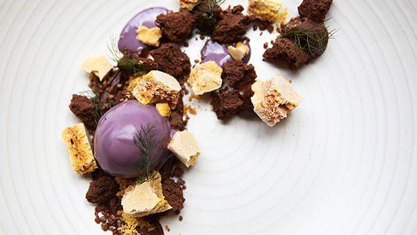 Matthew Butcher's 'nitro' violet crumble