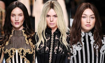 With Olivier Rousteing's autumn 2016 collection for Balmain hitting the runway overnight, we expected to see the usual #BalmainArmy contingent. But the designer didn't just give us supers, he gave us supers like we've never seen them before. <br><br>The manes of Kendall Jenner, Gigi Hadid, Rosie Huntington-Whiteley and more were given a colour transformation with the help of some realistic wigs. <br><br>Kendall went platinum blonde, while Gigi Hadid traded in her signature blonde locks for chestnut waves. Alessandra Ambrosio went for a sandy hue and Rosie Huntington-Whiteleyswitched it up in long black locks. <br><br>Click through to see all the transformations and see if you can recognise these famous faces without their trademark 'dos.