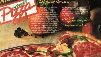 The retro 1980s Macca's menu item trending online