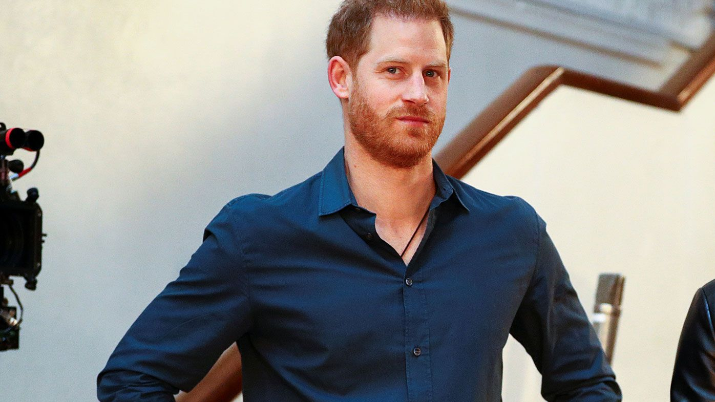 Prince Harry, Duke of Sussex at an Invictus Games event