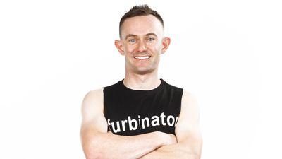 Stewart Furze as seen on Australian Ninja Warrior 2020.