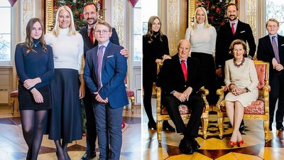 The Norwegian Royal Family unveils their Christmas portraits, December 2018