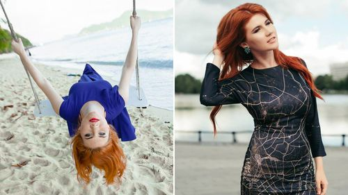 Anna Chapman in some recent Facebook posts.