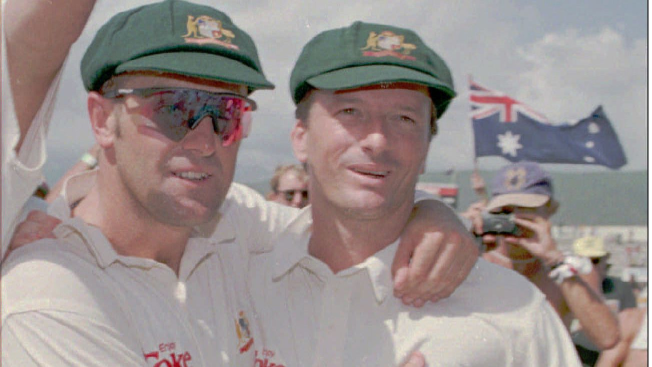 Mark Taylor and Steve Waugh