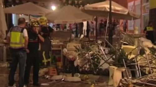 More than 70 people injured in gas explosion at café in Spain