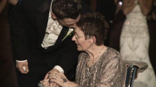 Luke Rheault's mother broke down in tears.
