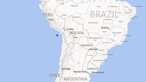 Powerful quake hits Chile