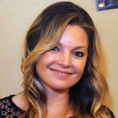 Clare Kramer as Courtney: Now