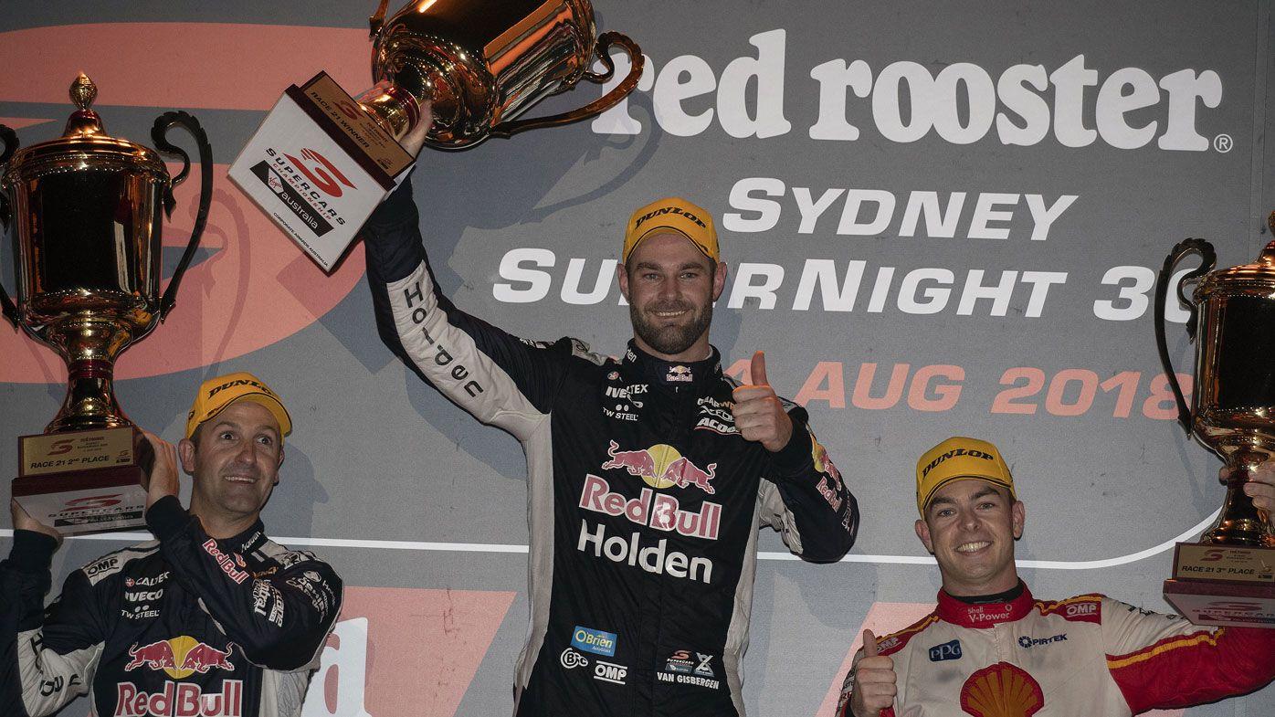 Shane Van Gisbergen wins classic Supercars race
