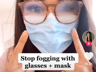 Eye doctor reveals simple trick that'll stop your glasses fogging up while wearing a mask